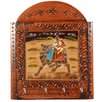 Camel Painted Wooden Handicrafts Key Holder For Wall Online