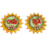 Kundan Craft Sun Shaped Subh Labh Door Toran Online
